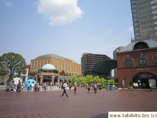 The main square of Yebisu Garden Place