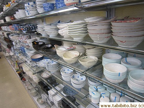 Lots of tableware