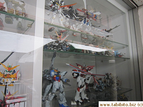 They carry some Gundam stuff